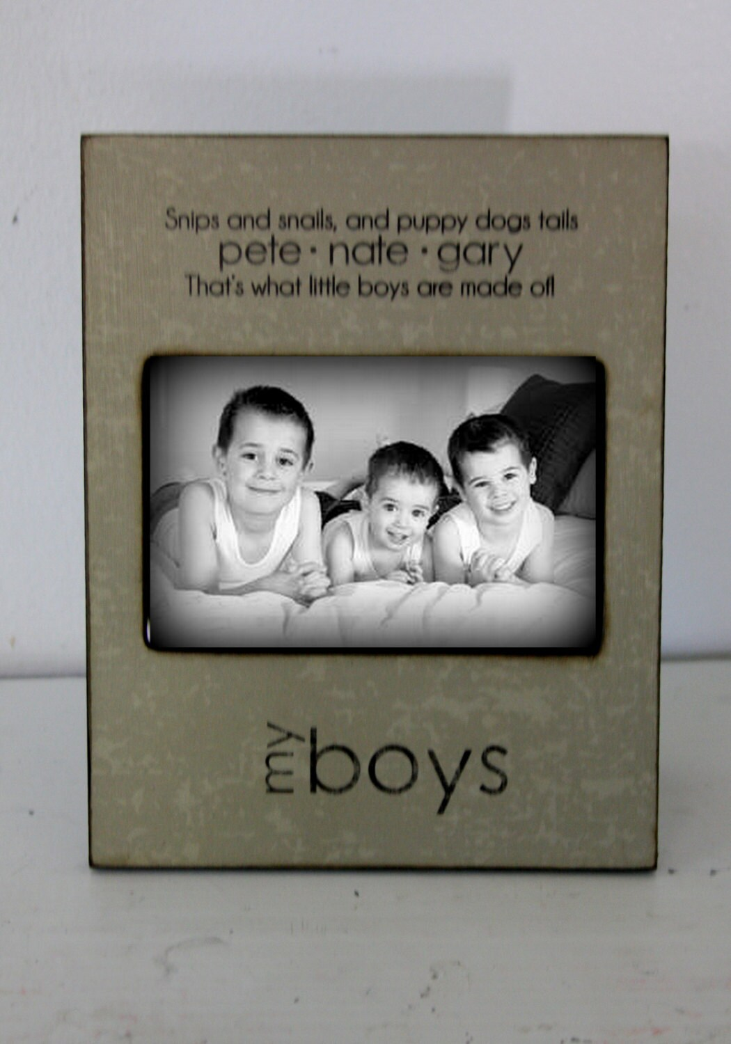 Mom Mother Gifts My Boys Picture Frame Personalized Picture