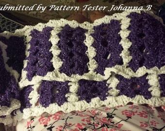 C2C Graph, Shelden Infinity Scar,f Crochet PATTERN, Infinity Scarf, Pattern Crochet, Scarf Pattern