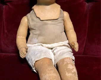 25% Off! Weird ~ HAUNTED ~ Antique doll! ~ Creepy, DECAY, oddities, Cabinet of curiosities, goth, Gothic, steampunk, Curiosity, abandoned ~