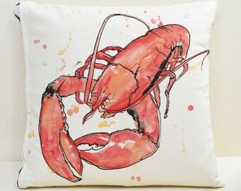 Lobster Cushion Cover