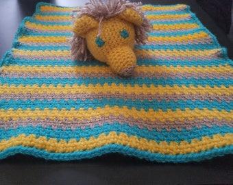 Lion Security Blanket Lovey