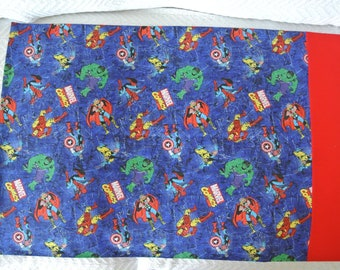 Marvel Comics Avengers Pillowcase **Only 1 available**