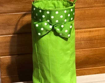 Single Bottle Wine Tote Bag
