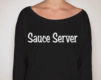 The Sauce Server Tee