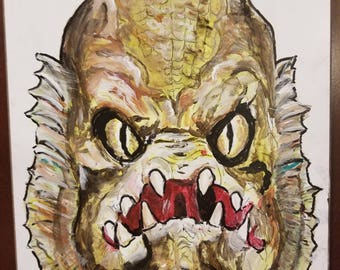 Gillman Fishman from Monster Squad