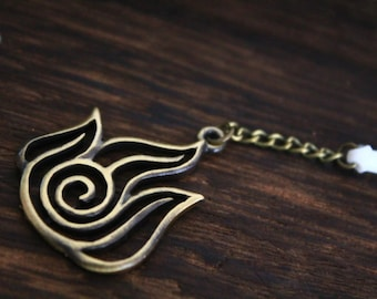 the antique bronze dust plug charm Avatar: The Last Airbender jewelry gift Christmas jewelry C157D-b