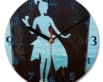 Wall Clock - Photo Wall Modern Clock - By the Water 2