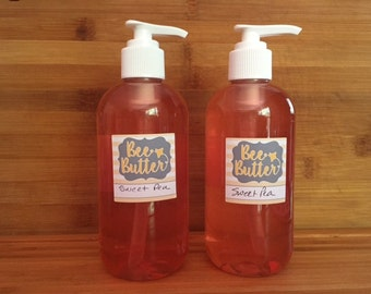 Sweet Pea Liquid Hand Soap, Liquid Hand Soap
