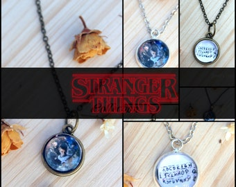 Stranger Things - necklace - keychain