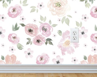 NEW! Vintage Floral Wallpapers