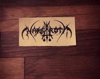 Nargaroth Logo Band Patch Black Metal