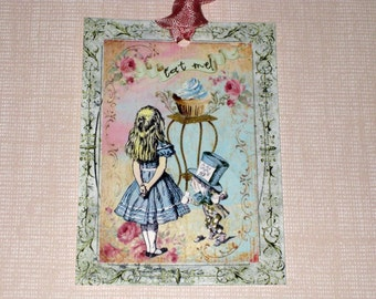 Gift Tags Alice in Wonderland Gift Tag ECS