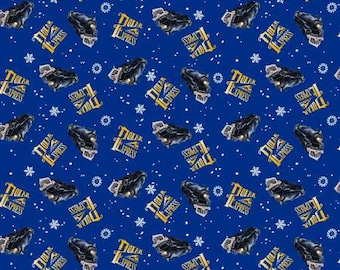 Springs Creative Polar Express Collection Polar Express Toss Fabric - 1 Yard