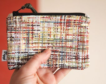 coin purse / minimalist wallet men / card pouch / vegan wallet