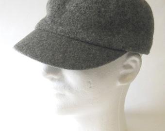 Kangol Gray Wool Cap
