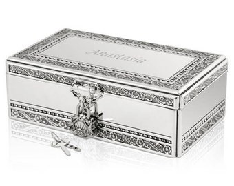 Engraved jewelry box Etsy