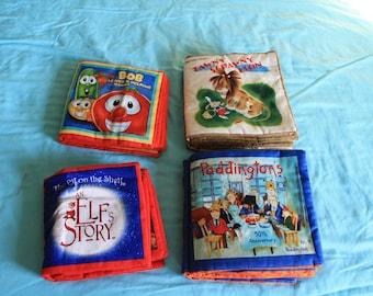 4 Cloth Books Children