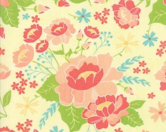 Canary Yellow Lulu Lane Fabric -  Moda - Corey Yoder - 29020 12