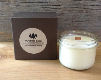 Fresh Baked Bread 100% soy wax candle