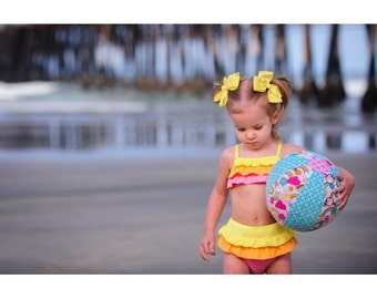 Have a Ball PDF Sewing Patterns, Beach Ball Pattern, Birthday Party Pattern