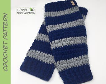 Magical School leg warmers CROCHET PATTERN || Instant Download