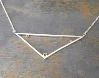 Play Geometric Triangle Pendant