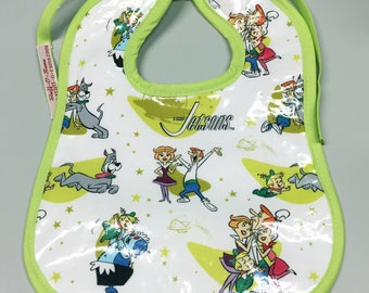Wipeable Baby Bibs - The Jetsons