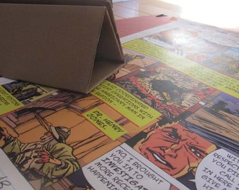 gift idea comic book graphic novel Art Print 11X17 signed page