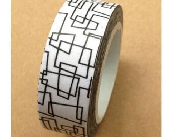 Washi tape (washi) - nested squares
