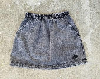 Rare Vintage Nike Challenge Court Denim Tennis Skirt Sz. M