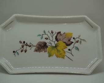Small Tray, Leaves
