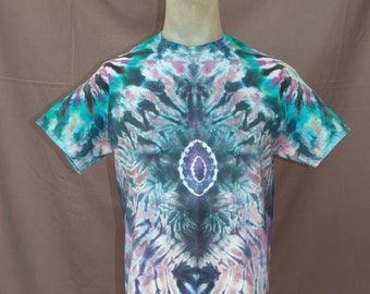 Handmade Ice Dye T-Shirt: Medium 12