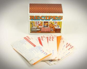 Vintage Kellogg's Rice Krispies Recipe Box with Recipes Shown Metal Tin