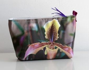 Photo bag, medium size, cosmetic bag, makeup pouch, pouch, case