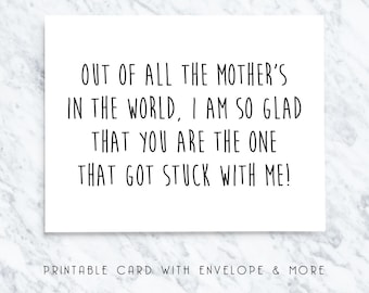 mothers day card, mothers day gift, printable mothers day, digital downloads, happy mothers day, printable cards