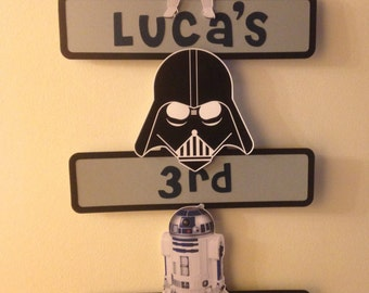 Star Wars Party Sign