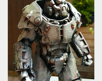 X01 Power Armor Fallout 4 Desktop Display Model 6 & 10 Inch Variations