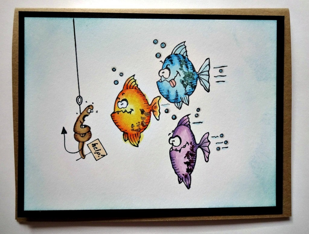 Funny card for men fishing card for dad masculine birthday zoom bookmarktalkfo Choice Image