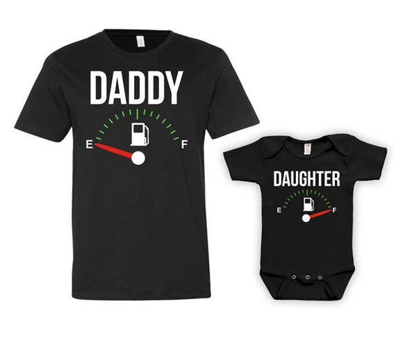 Father Daughter Matching Shirts Daddy Daughter Shirts Dad And Daughter Matching Family Outfits King And Princess Bodysuit MAT-712-715