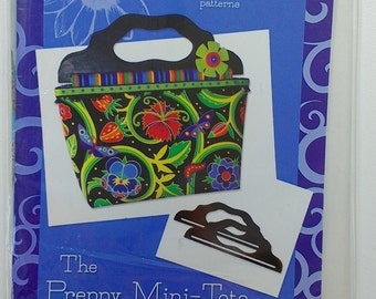 Pattern ONLY for Preppy Tote by Ellen Medlock