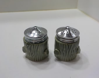 Vintage Ceramic Cacti Salt And Pepper Shaker Set (#22)