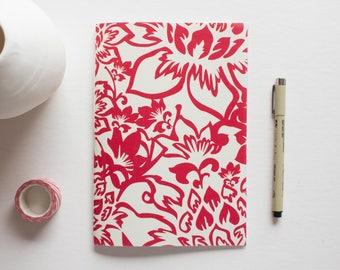 small sketchbook, fabric journal, travel journal, writing journal, sketchbook journal, notebook journal, prayer journal, linen journal, cute