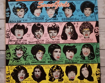 Vinyl: The Rolling Stones, Some Girls, Free Shipping
