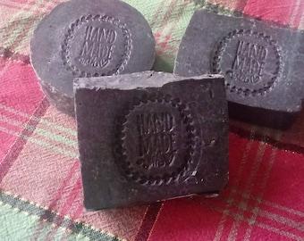 Activated Charcoal & Bentonite Clay Soap  4-5 oz bar