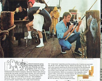 1973 Advertisement Camel Filter Cigarette Fishing Pier Can You Spot The Smoker Not For Everybody Could Be For You Smoking Wall Art Decor
