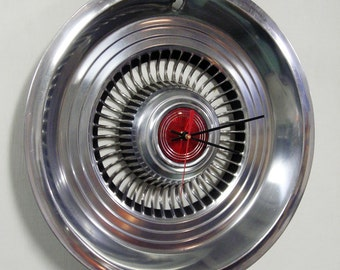 1976 - 1977 Ford Maverick and Mercury Comet Hubcap Wall Clock
