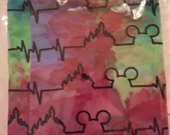 Mickey Beats wide Infinity Scarf.