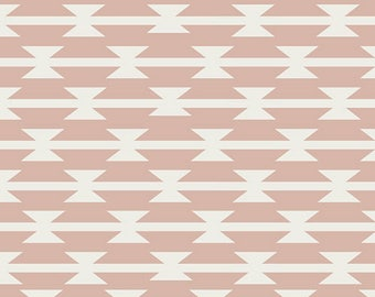 Arizona After Tomahawk Stripe in Blush Art Gallery Fabric Choose your cut