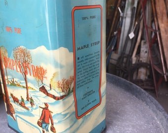 Vintage Maple Syrup Can