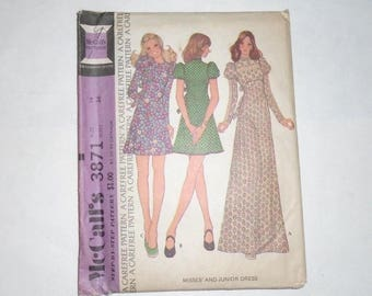 Vintage 1970s Patterns Simplicity Butterick Very Easy Vogue & McCall's - Set Of 11
